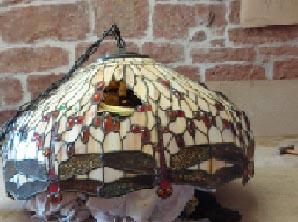 Reparaturen von bleiverglasungen und tiffany for Lampen reparatur berlin